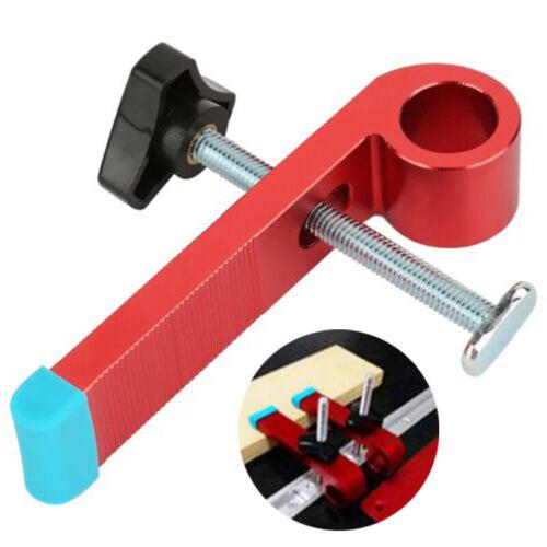 1 X Mitre Track Stop Rutsche T-Nut Spur Zubehör Positionierung Werkzeug DE