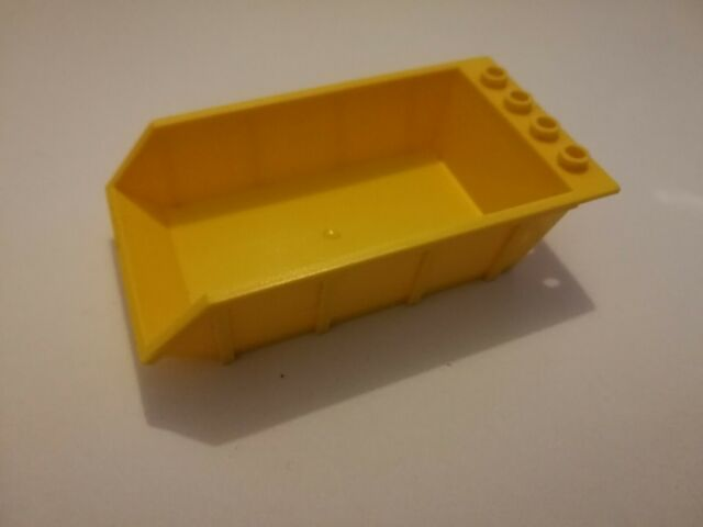 LEGO 4080 PART YELLOW /& Orange  VEHICLE TIPPER BED DIGGER 4 X 6 VERY GOOD