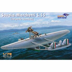 Dora-Wings-72020-Savoia-Marchetti-S-55-torpedo-bomber-1-72-Plastic-Model-Kit