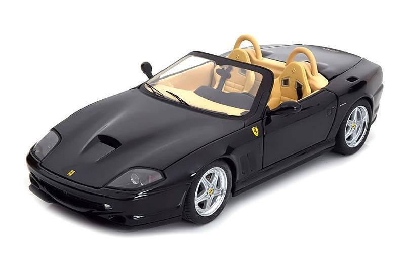 1/18 Hot Wheels Ferrari 550 Barchetta Pininfarina Elite Edition Diecast N2055