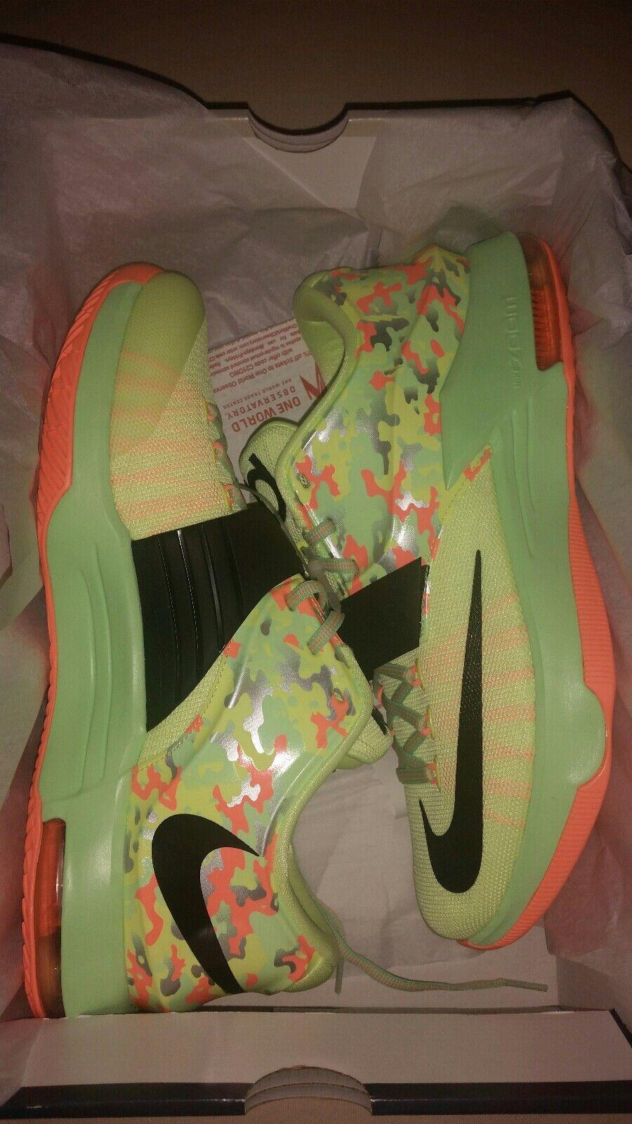 Nike Air KD 7 VII Basketball Sneaker South Beach Camo Kevin Durant Trainer shoes