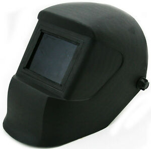 Extra Large View Welding Helmet Hood Face Eye Protector Inch L #10 Shade