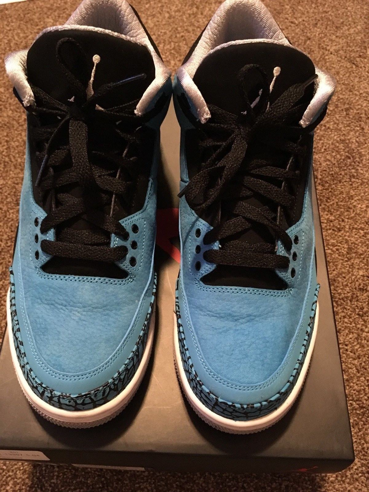 Men's Air Jordan 3 Retro Powder Blue Comfortable Cheap and beautiful fashion