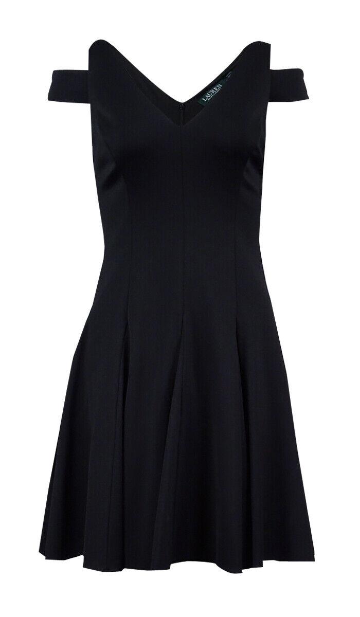 Lauren Ralph Lauren Women's Cutout Shoulder Dress