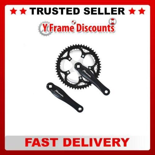 Raleigh Bikes  Chainset Chainring Sprocket 52//42 x 170mm Black Black