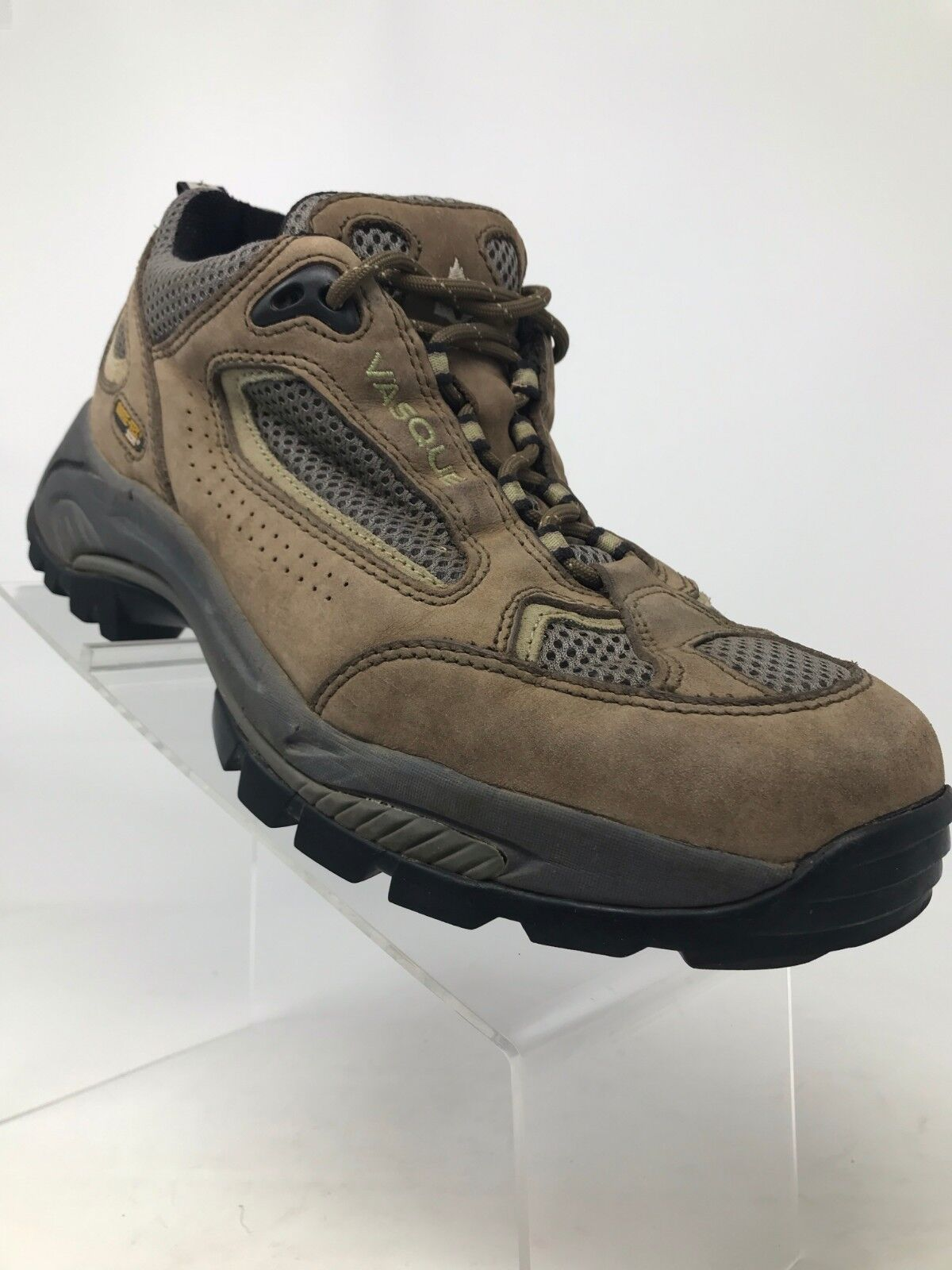 Vasque Breeze GTX XCR Brown Leather Gore-Tex Hiking Trail shoes 7459 Women10 M