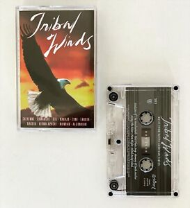 Vintage Tribal Winds Cassette Tape Music From Native American Flutes Ambient USA