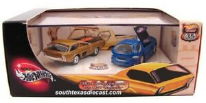 HOT-WHEELS-2002-35th-ANNIVERSARIO-034-deora-034-2-Pack-034-veri-riders-034-034-NUOVO-amp-RARO-034