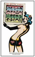 Rolling Stones POSTER Some Girls AMAZING COLORS Sexy Promo
