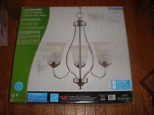 Bel air lightning 3 light chandelier 0164990 brand new 736916557672 image is loading bel air lightning 3 light chandelier 0164990 brand aloadofball Image collections