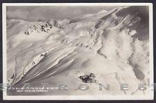 BOLZANO BOZEN STELVIO 48 STILFS PASSO - NEVE INVERNO Cartolina FOTOGR. viag 1935