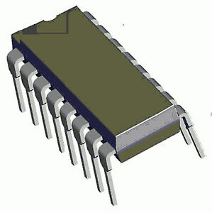 MOTOROLA SN74LS123J Dual Momostable Multivibrator 16-Pin Ceramic Dip Qty-4