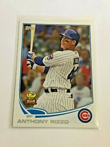 2013-Topps-Baseball-Base-Card-44-Anthony-Rizzo-Chicago-Cubs