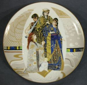 Judgment-of-Solomon-Biblical-Mothers-Collector-Plate-Eve-Licea-Vintage