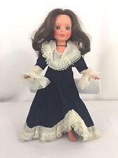 "14""  FURGA ITALY 1960's Doll RUBBER TWISTING BODY Sleepy Eyes RARE Vintage"