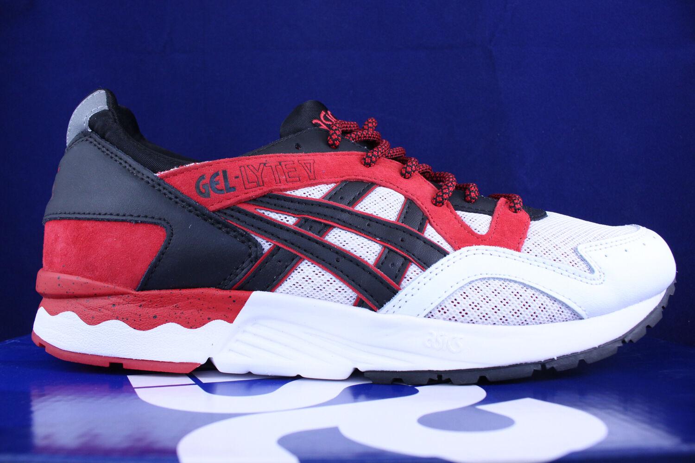 ASICS GEL LYTE V 5 RED BLACK WHITE  H6S4L 2590 SZ 8.5
