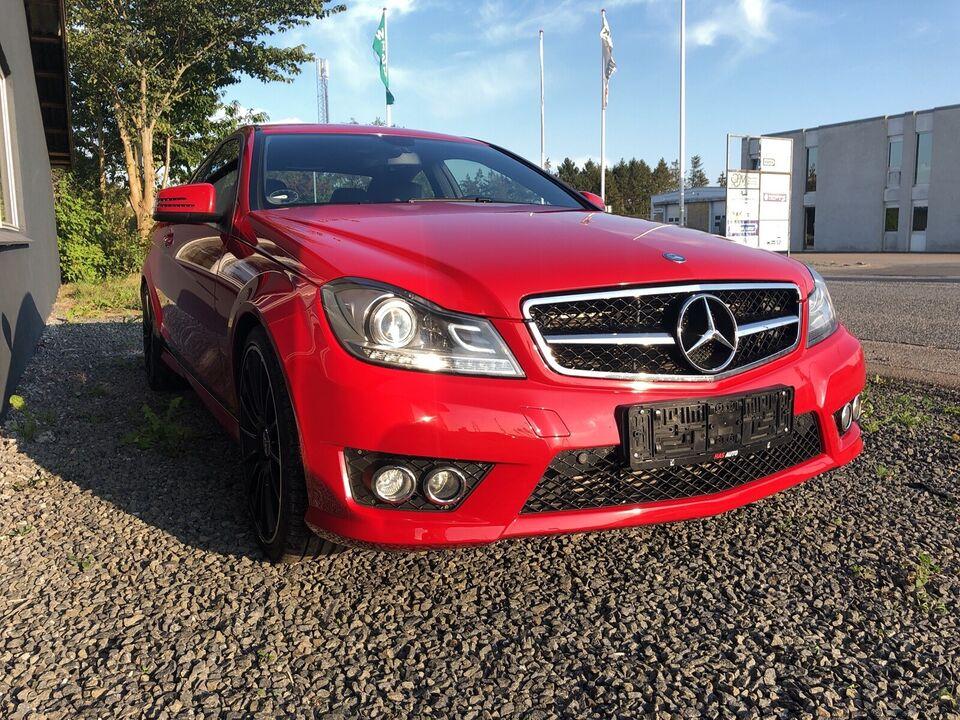 Mercedes C180, 1,6 Coupé aut. BE, Benzin