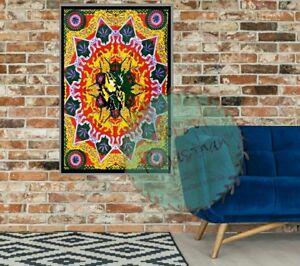 Bob Marley Smoking Weed Tapestry Reggae Wall Hanging Throw Poster Flag Textile
