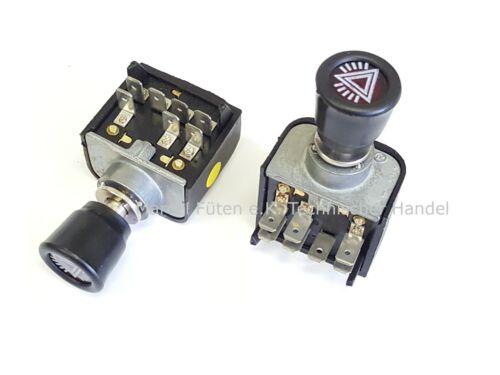Warnblinkschalter Zugschalter für Traktor DEUTZ 4506 5206 6206 6806 7206