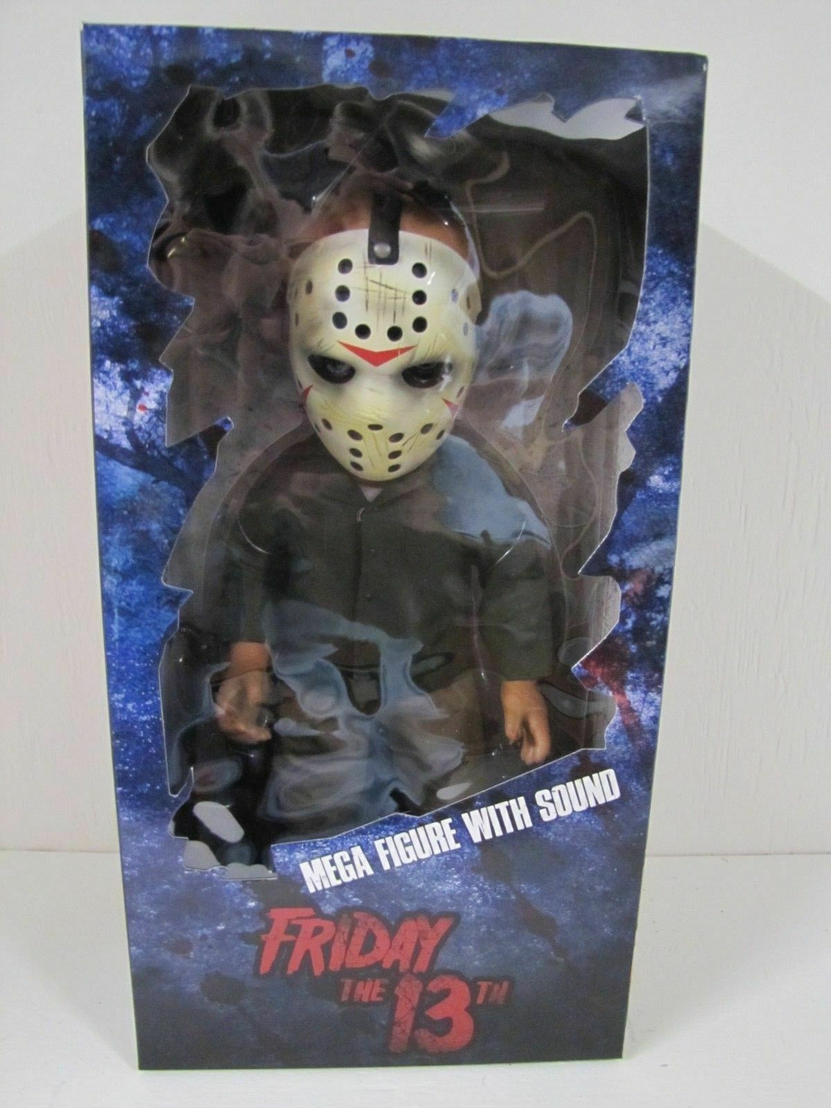 Mezco giocattoloz Friday  the 13th Jason Voorhees 15  Talre bambola cifra With suono nuovo  offerta speciale