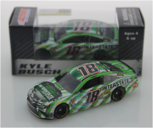 NEW NASCAR 2019  KYLE BUSCH #18 INTERSTATE 1//64 CAR IN STOCK NOW