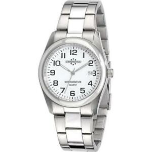 Mens-Wristwatch-CHRONOSTAR-SLIM-R3753100002-Stainless-Steel-White-NEW