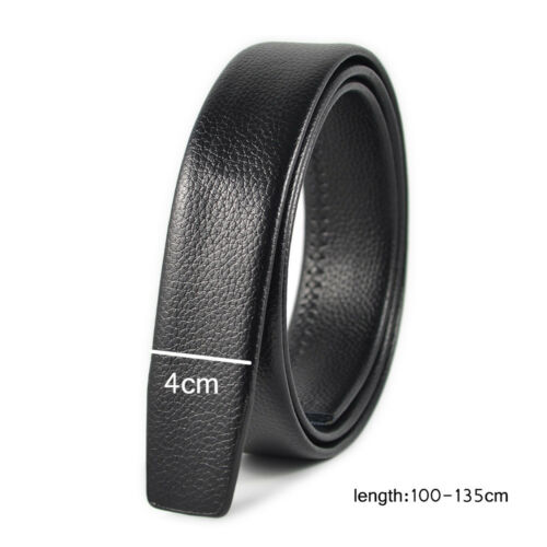 Men/'s Casual Waistband Genuine Leather Belt Automatic Buckle Waist Strap Belts