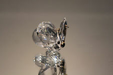Swarovski Crystal 7671 NR 30 Small Mini Butterfly Crystal Tips Figurine MINT Box