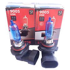 2x HB3 Xenon LOOK Halogen Lampe 6000K Super White 12V 65W US 9005