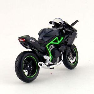 DieCast-1-18-Maisto-Motorcylce-Kawasaki-H2R-Motor-Bike-Model-Car-Toy-Gift