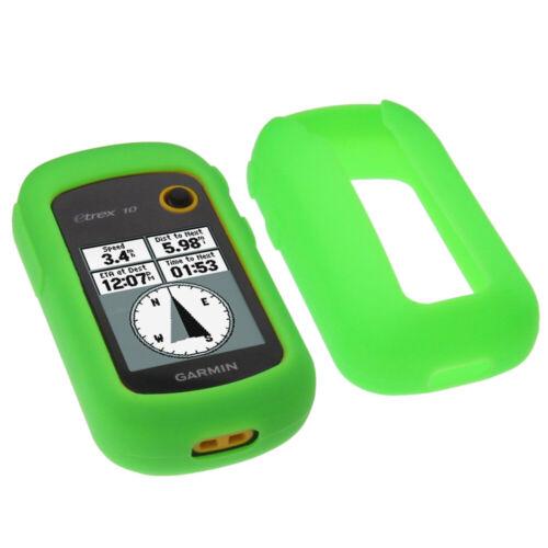 Funda para Garmin etrex 20x 22x 32x protección bolsa GPS case silicona silicon verde