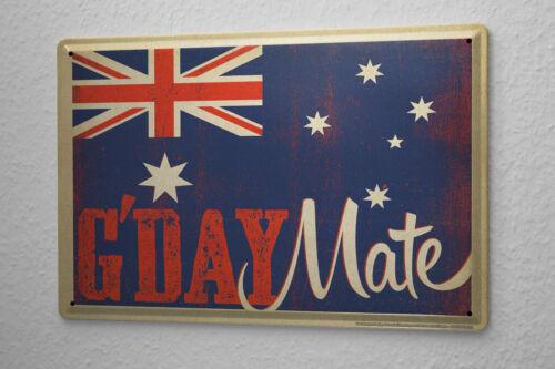 Tin Sign Globetrotter Australia