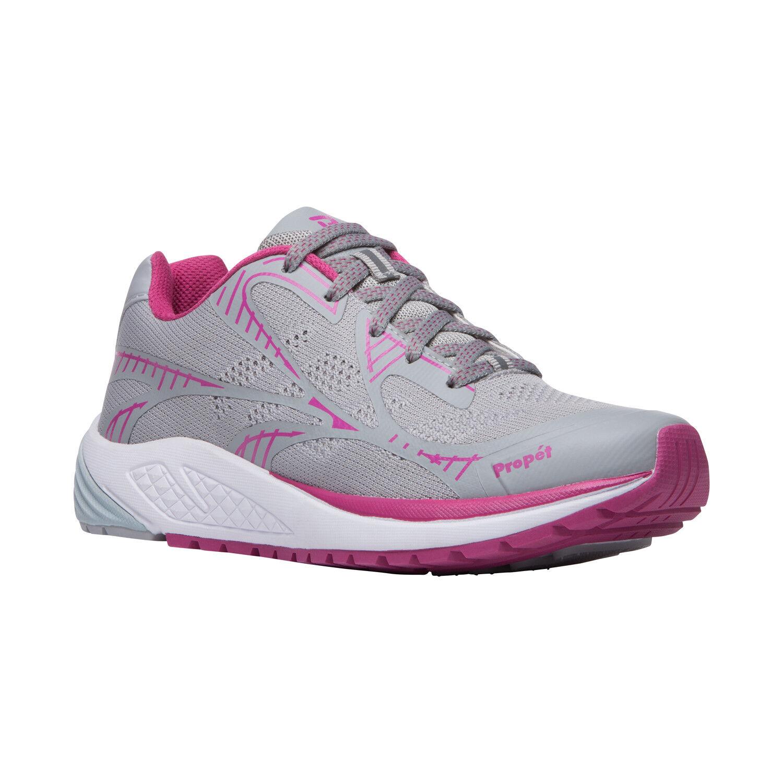 Propet One LT WAA022 Grey Berry Women's Walking shoes Diabetic Approved 7.5 wide