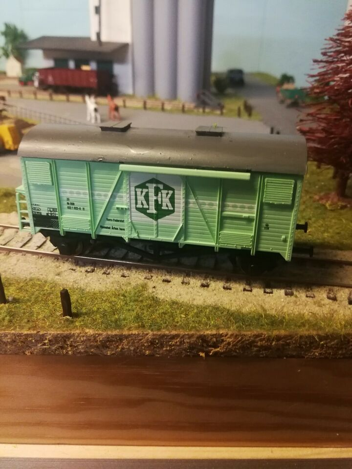 Modeltog, Heljan KFK samlesæt 4020, skala Ho 1:87