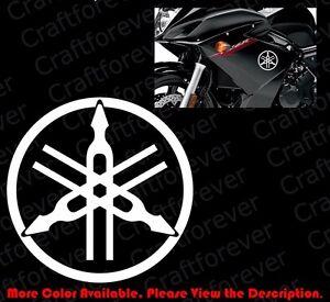 Image is loading YAMAHA-TUNING-FORK-Logo-Motor-Cycle-Bike-Car-