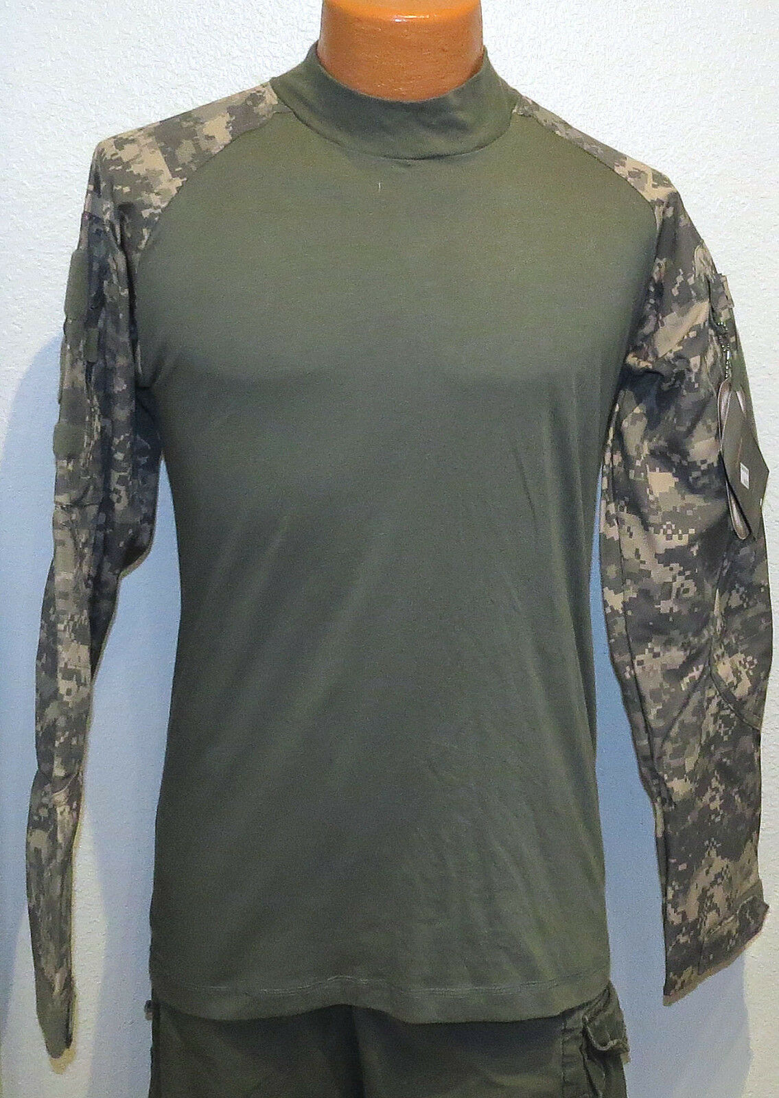 d107644f0ed Cordura Base Layer OLIVE & DESERT CAMO Shirt MED Tru New NWT military  hunting M
