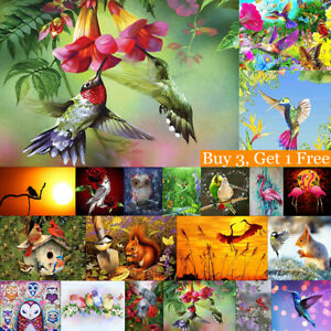 Owl Bird Full Drill 5D Diamond Painting DIY Cross Stitch Kits Home Mosaic Art