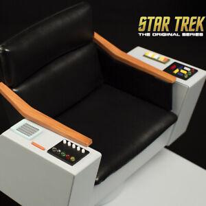 QMX Star Trek TOS Captain's Captains Chair 1:6 Scale NEW SEALED DOUBLEBOX