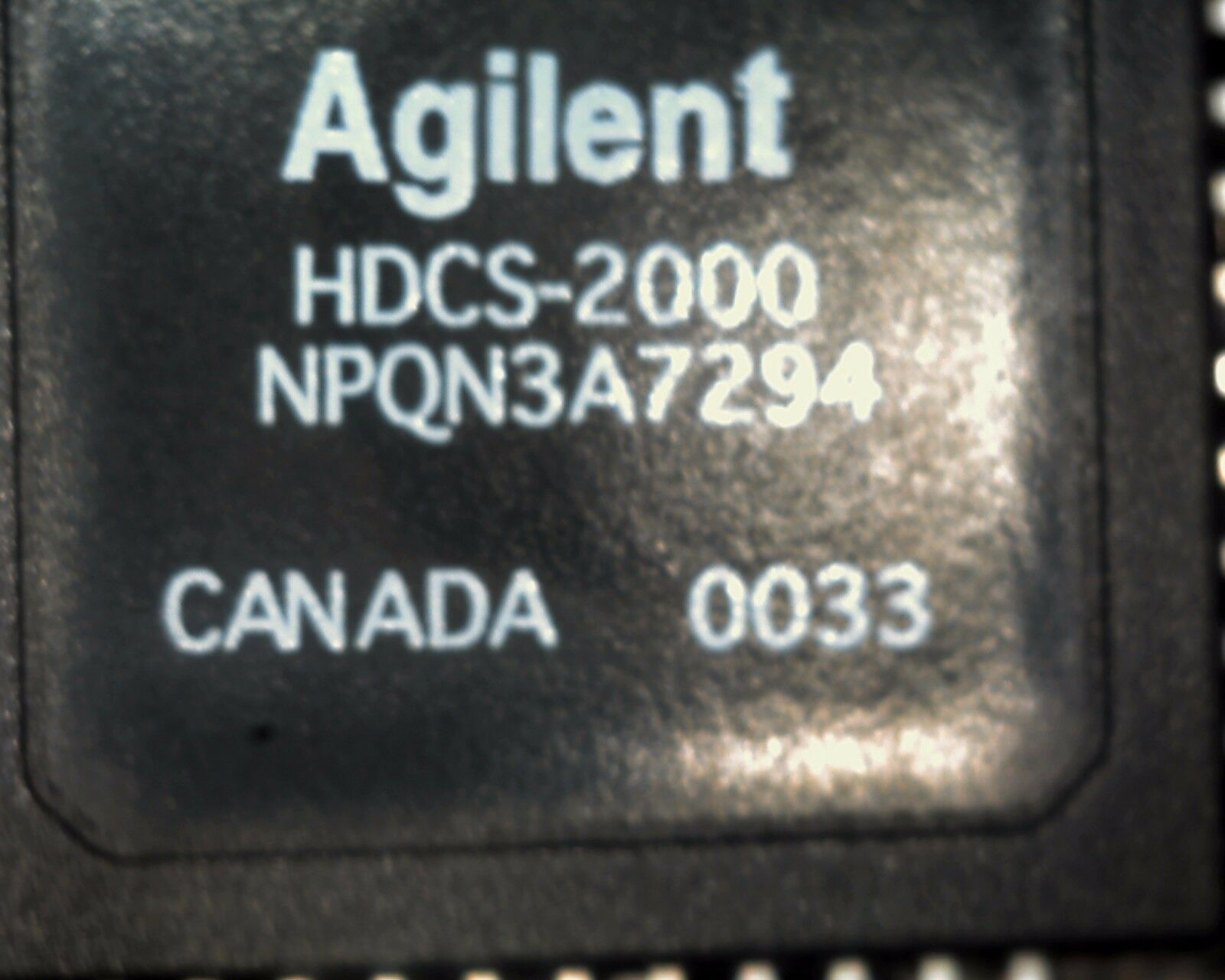 Agilent HDCS-2000 640x480 colour video image sensor camera