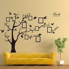 Photo Frame Tree Wall Sticker Vinyl Removable Home Office Room Decor Decals