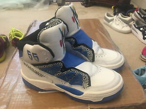 Dikembe Mutombo Shoe Size.Details About Shoes Mens Size 9 5 Basketball Dikembe Mutombo Adidas Royal Blue White 55