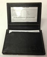 Lewis n Clark RFID Blocking Leather Gusset Card Case Business Card Case 935