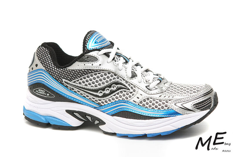 New Saucony Fusion 3 Stability Men Running shoes Sz 7.5  (MSRP  120) 25063
