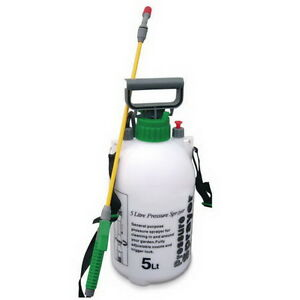 Bnib 5l Garden Knapsack Backpack Pressure Sprayer Spray Pump Weed
