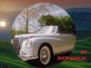 mercedes 300d shop manual