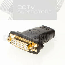 HDMI Female to DVI-D Dual Link Female (24+5pin) Adapter for PC Monitor HDTV