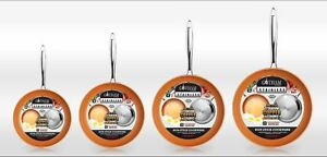 Gotham Steel Stainless Steel Premium Non Stick Frying Pan – 4 SIZES! BRAND NEW
