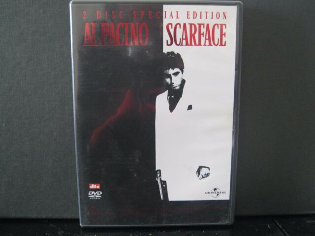 Scarface - Special Edition - 2 Disc set - REGION 4 - LIKE NEW - DVD #206