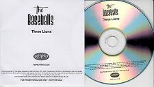 THE BASEBALLS Three Lions UK 1-trk promo test CD
