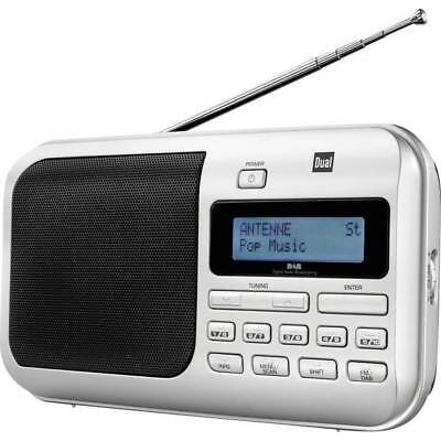 DAB+ Kofferradio Dual DAB 4 DAB+, UKW  Silber